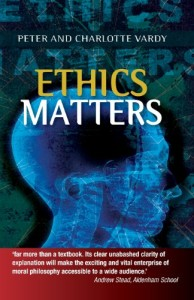 """Ethics Matters"" ideal text book to complement Year 11&12 Study of Religion"